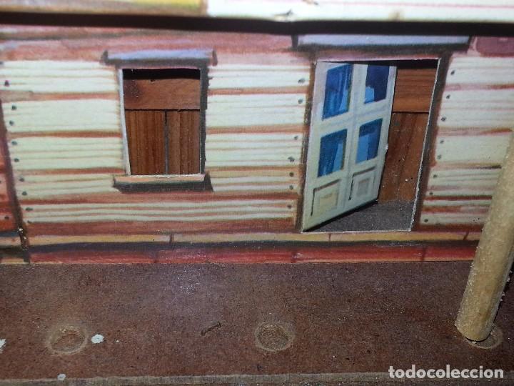 Figuras de Goma y PVC: COMANSI : ANTIGUO FUERTE DEL OESTE FORT FEDERAL EN MADERA DE 1ª ETAPA AÑOS 60 - Foto 30 - 86615624