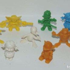 Figuras de Goma y PVC: LOTE DE FIGURAS DE DUNKIN, TAL Y COMO SE VEN EN LAS FOTOS PUESTAS.. Lote 86712112