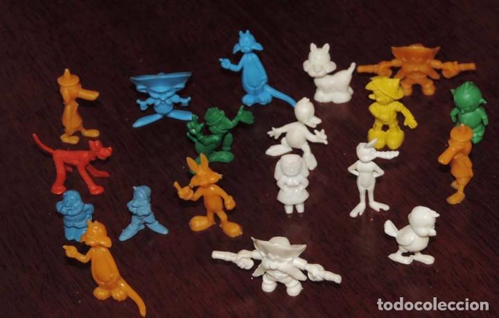 Figuras de Goma y PVC: LOTE DE FIGURAS DE DUNKIN, TAL Y COMO SE VEN EN LAS FOTOS PUESTAS. - Foto 2 - 86712176