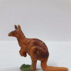 Figuras de Goma y PVC: CANGURO . REALIZADA POR PECH . SERIE FIERAS . AÑOS 50 EN GOMA. Lote 86731212