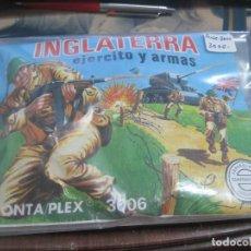 Figuras de Goma y PVC: MONTAPLEX- SOBRE CERRADO INGLATERRA EJERCITO Y ARMAS- Nº 3006-SERIE 3000. Lote 86750332