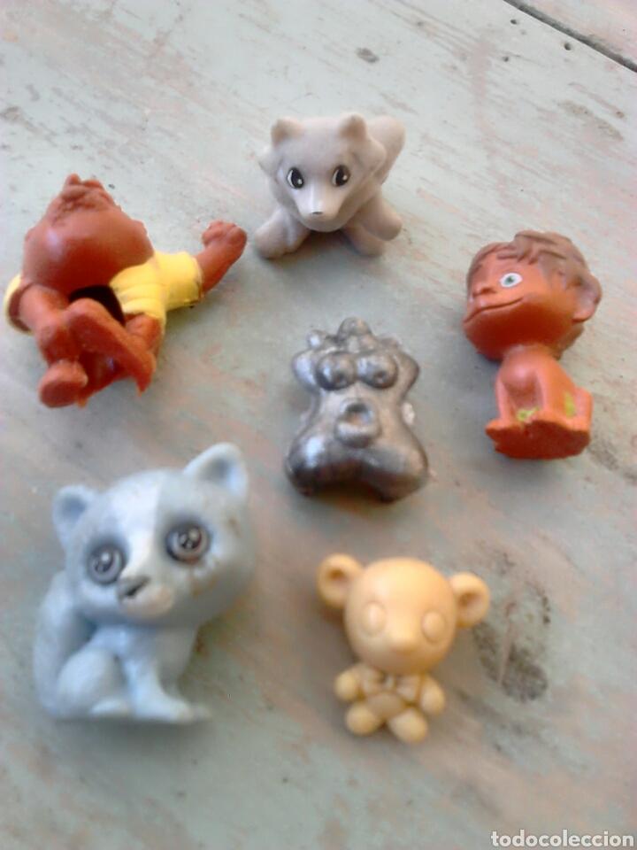 LOTE DE 6,FIGURAS DE GOMA O PVC,DUNKIN,VER FOTOS (Juguetes - Figuras de Goma y Pvc - Dunkin)