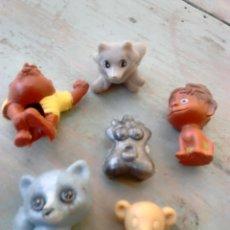 Figuras de Goma y PVC: LOTE DE 6,FIGURAS DE GOMA O PVC,DUNKIN,VER FOTOS. Lote 86920258