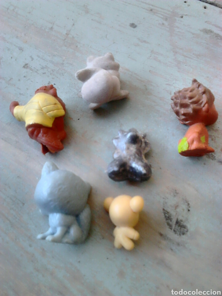 Figuras de Goma y PVC: Lote de 6,figuras de goma o pvc,dunkin,ver fotos - Foto 2 - 86920258