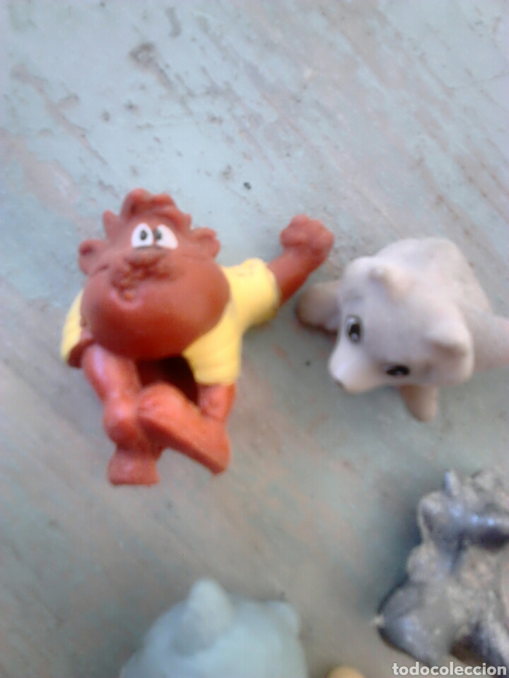 Figuras de Goma y PVC: Lote de 6,figuras de goma o pvc,dunkin,ver fotos - Foto 3 - 86920258