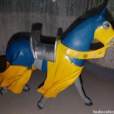Figuras de Goma y PVC: BONITO CABALLO MEDIEVAL FIGURA PVC GOMA PLASTOY. Lote 87004558