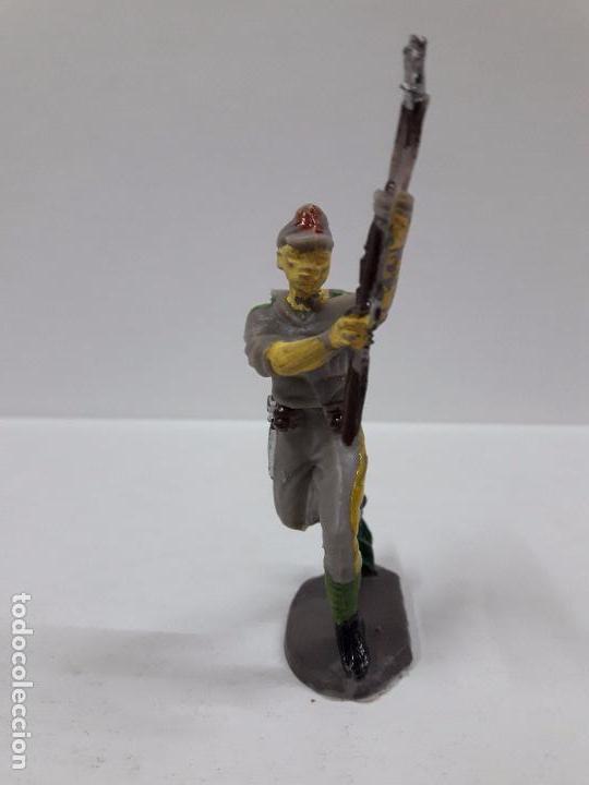 Figuras de Goma y PVC: SOLDADO JAPONES . REALIZADO POR PECH . AÑOS 60 EN PLASTICO - Foto 3 - 87009416