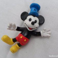 Figuras de Goma y PVC: ANTIGUA FIGURA PVC DE MICKEY MOUSE . Lote 87054592