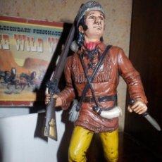 Figure di Gomma e PVC: FIGURA PVC - COMANSI - CON CAJA ORIGINAL - DAVY CROCKETT - THE WILD WEST. Lote 87075472