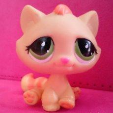 Figuras de Goma y PVC: FIGURA LPS LITTLEST PET SHOP HASBRO 1207 GATO CAT. Lote 87157748