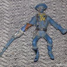 Figuras de Goma y PVC: COMANSI : ANTIGUO SOLDADO JINETE FEDERAL SEPTIMO DE CABALLERIA AÑOS 70. Lote 87314612
