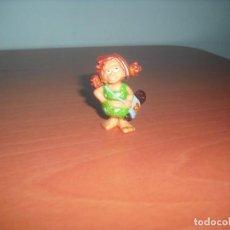 Figuras de Goma y PVC: SERIE TRIBUGUAY - JOVENCITA - SALIA EN LOS HUEVOS KINDER SORPRESA. Lote 87384904