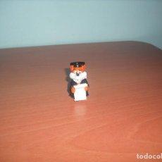 Figuras de Goma y PVC: SERIE FANCY FUXIES - ZORRITOS - SALIAN EN LOS HUEVOS KINDER SORPRESA. Lote 87385172