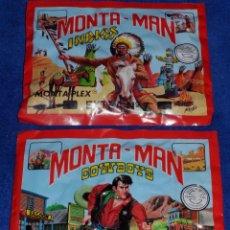 Figuras de Goma y PVC: MONTAMAN 7 - MONTAMAN 8 - COWBOYS - INIDIOS - MONTAPLEX. Lote 87469752