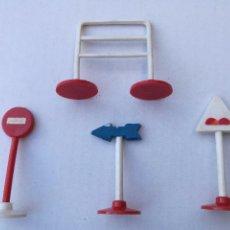 Figuras de Goma y PVC: SOTORRES, 4 SEÑALES CICLISTAS. Lote 87506188