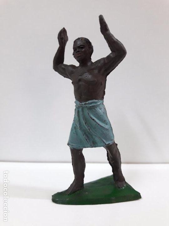 PORTEADOR . REALIZADO POR JECSAN . SERIE SAFARI . AÑOS 50 EN GOMA (Juguetes - Figuras de Goma y Pvc - Jecsan)