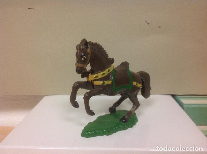 Figuras de Goma y PVC: FIGURA CABALLO STARLUX - caballo de starlux caballo medieval starlux oeste - Foto 2 - 87690228