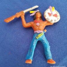 Figuras de Goma y PVC: ** JN01 - INDIO DE COMANSI. Lote 87733892