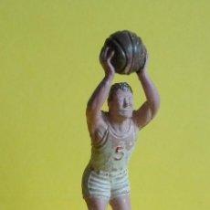 Figuras de Goma y PVC: JUGADOR DE BALONCESTO NOVEPLAX, GOMA. FINALES DE LOS AÑOS 50.. Lote 87878084