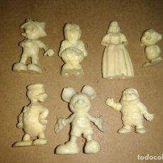 Figuras de Goma y PVC: SIETE ANTIGUAS Y RARAS FIGURAS DE PLASTICO DURO ?? AÑOS 60 DISNEY. . Lote 88177144