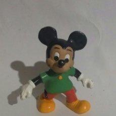 Figuras de Goma y PVC: FIGURA GOMA MICKEY WALT DISNEY EURA SPAIN 1980. Lote 88363376