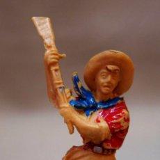 Figuras de Goma y PVC: FIGURA DE PLASTICO, COW BOY, VAQUERO, FABRICADO POR LAFREDO, 6 CM.. Lote 88468560