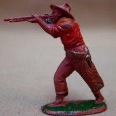 Figuras de Goma y PVC: FIGURA DE PLASTICO, COW BOY, VAQUERO, FABRICADO POR LAFREDO, 6 CM.. Lote 88469268
