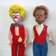 Figuras de Goma y PVC: GRUÑÓN Y PEPITO, MUÑECOS DE LAS MARIONETAS DE HERTA FRANKEL. 1962. Lote 88573196