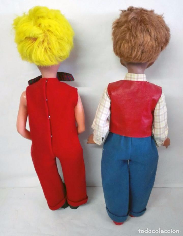 Figuras de Goma y PVC: Gruñón y Pepito, muñecos de las marionetas de Herta Frankel. 1962 - Foto 2 - 88573196