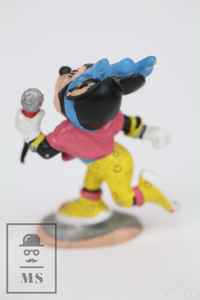 Figuras de Goma y PVC: Figura de Goma - Minnie Mouse con Micrófono - Walt Disney / Bully, 1988 - Foto 2 - 88758632