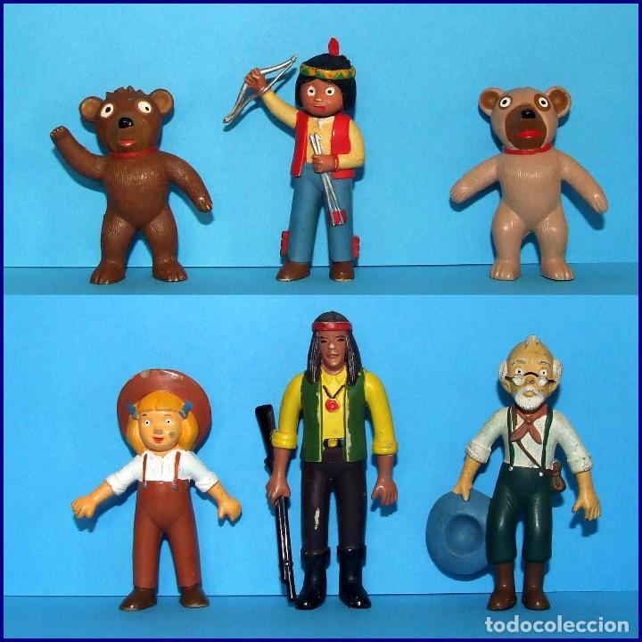 El Bosque De Tallac Jacky Y Nuca 6 Figuras Pvc Sold Through Direct Sale 88812940