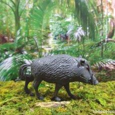 Figuras de Goma y PVC: FIGURA 'ANIMAL JABALÍ 00017'.. Lote 131586318