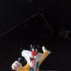 Figuras de Goma y PVC: ANTIGUA FIGURA PVC DEL GATO SILVESTRE. ORIGINAL DE WARNER BROS MACAU. AÑOS 90. . Lote 88878496