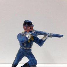 Figuras de Goma y PVC: SOLDADO FEDERAL - YANKEE . REALIZADO POR COMANSI . PRIMERA EPOCA. Lote 88912276