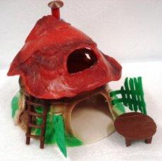 Figuras de Goma y PVC: BULLY: CASITA SETA BULLYLAND DE PVC PLASTICO. ¡¡NUEVA!! ORIGINAL Y EN SU CAJA. . Lote 88934432