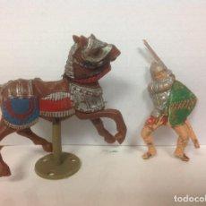 Figuras de Goma y PVC: FIGURA MEDIEVAL REAMSA - MEDIEVAL DE REAMSA. Lote 89027552
