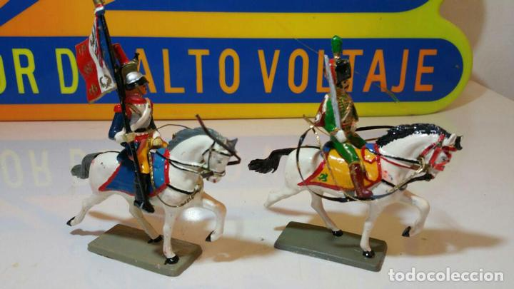 Figuras de Goma y PVC: STARLUX COLECCION EMPIRE 2 JINETES (L3) - Foto 2 - 89065492