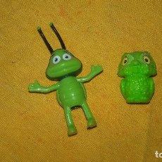 Figuras de Goma y PVC: LOTE DE 2 FIGURAS PARA PONER EN LÁPIZ.. Lote 89098136