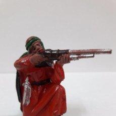 Figuras de Goma y PVC: ARABE BEDUINO FIGURA Nº140 . SERIE LAWRENCE DE ARABIA . REALIZADA POR REAMSA . AÑOS 50 EN GOMA. Lote 89157048