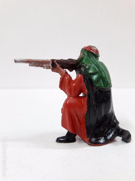 Figuras de Goma y PVC: ARABE BEDUINO FIGURA Nº140 . SERIE LAWRENCE DE ARABIA . REALIZADA POR REAMSA . AÑOS 50 EN GOMA - Foto 3 - 89157048