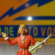 Figuras de Goma y PVC: MICHEL MADE IN FRANCE TROBADOR (L23). Lote 89342380