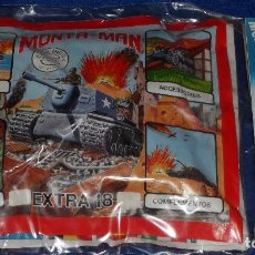 Figurines en Caoutchouc et PVC: MONTAMAN - EXTRA 7 + EXTRA 18 - MONTAPLEX ¡BLISTER PRECINTADO!. Lote 89370728