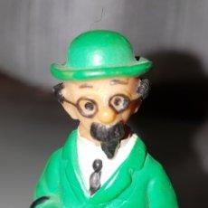 Figuras de Goma y PVC: BONITA FIGURA PVC GOMA DE PROFESOR TORNASOL TINTIN BULLY AÑOS 70.. Lote 89441916