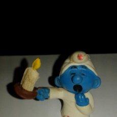 Figuras de Goma y PVC: PITUFO DE PVC BOOTLEG AÑOS 70 Y 80 MADE IN SPAIN PTIFUOS MADE IN SPAIN. Lote 89490556