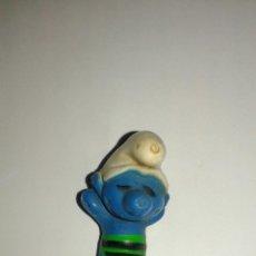 Figuras de Goma y PVC: PITUFO DE PVC BOOTLEG AÑOS 70 Y 80 MADE IN SPAIN PTIFUOS MADE IN SPAIN SMURFS. Lote 89490568