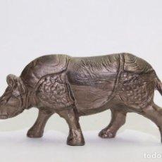 Figuras de Goma y PVC: ANIMALES OMO FRANCIA RINOCERONTE PEQUEÑO. Lote 89602048