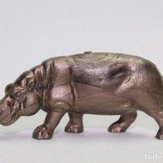 Figuras de Goma y PVC: ANIMALES OMO FRANCIA HIPOPOTAMO PEQUEÑO. Lote 89602476