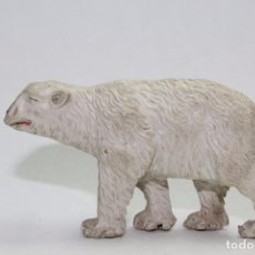 Figuras de Goma y PVC: ANIMALES LAFREDO OSO POLAR GOMA. Lote 89602844