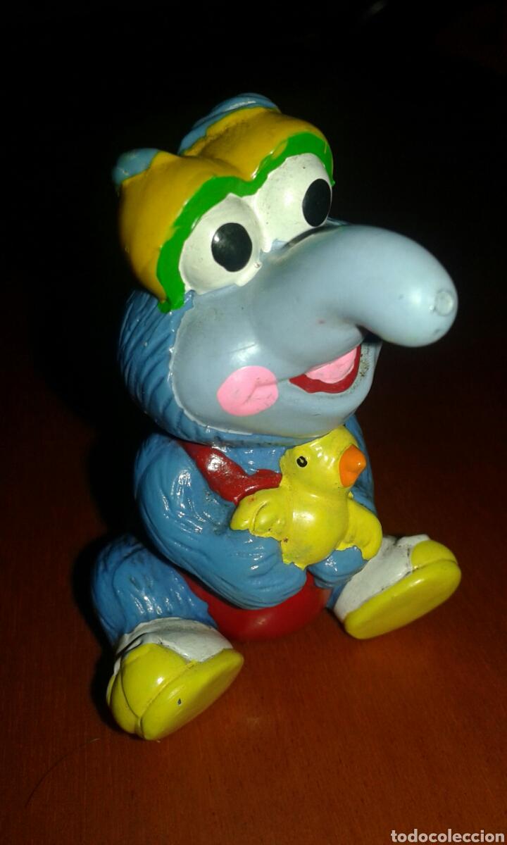 FIGURA RARA PVC DE GONZO MUPPETS BABIES 1985 ( PEQUEÑECOS ) (Juguetes - Figuras de Goma y Pvc - Otras)