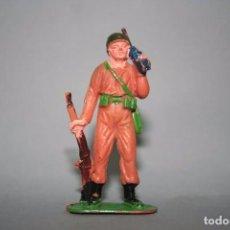 Figuras de Goma y PVC: JECSAN SOLDADO AMERICANO SERIE CASCOS AZULES. Lote 89787384